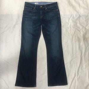 Gap 1969 Sexy Bootcut Jeans, Women Size 28/6, EUC!